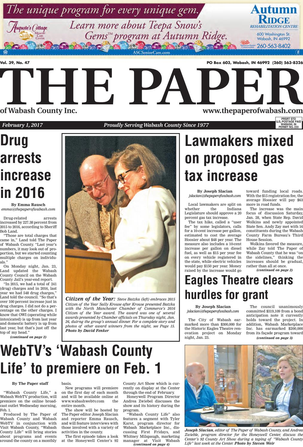the paper of wabash county feb 1 2017 issue