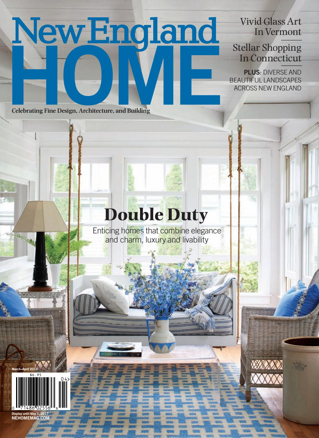 New england home march april 2017 by new england home for A r interior decoration llc