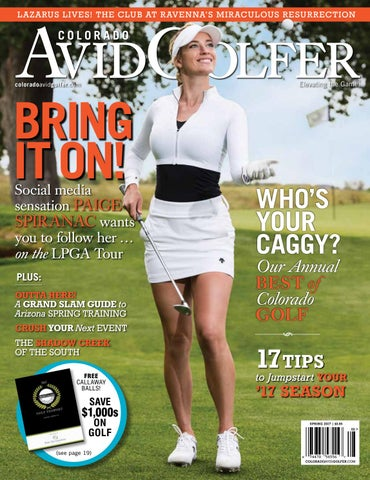 Spring 2017 Digital Issue Colorado AvidGolfer