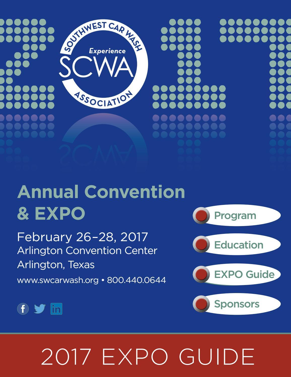 2017 southwest car wash association convention expo - Dallas home and garden show 2017 ...