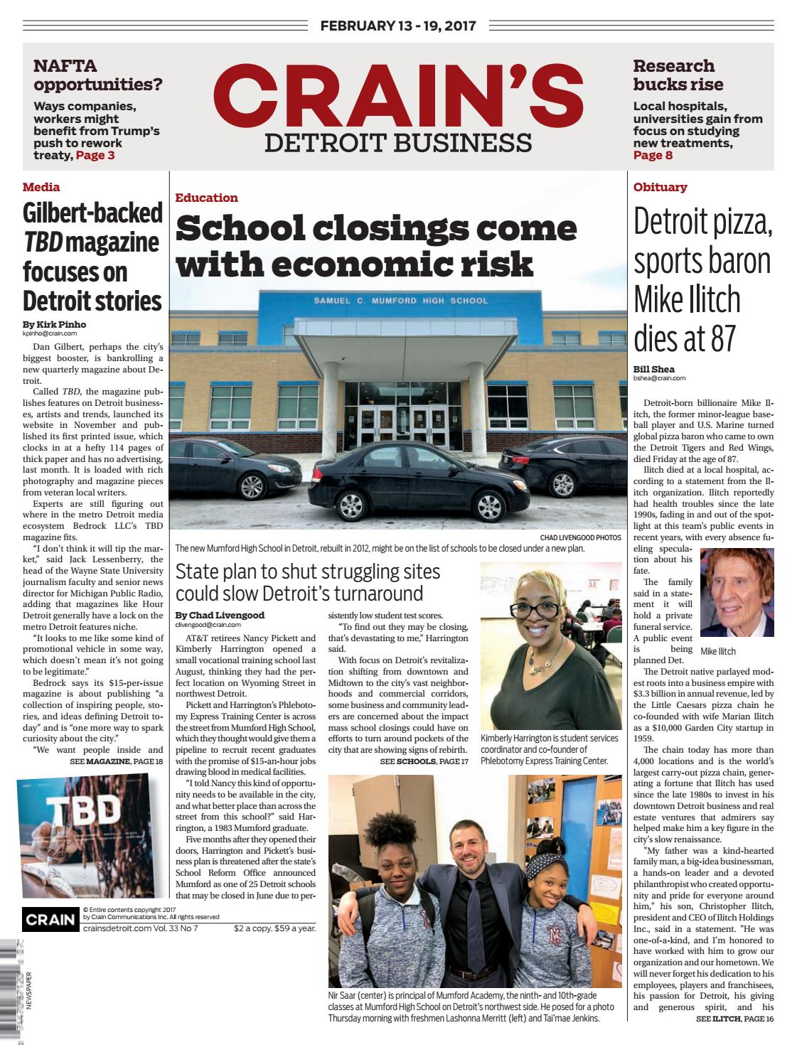 crain s detroit business feb issue by crain s detroit crain s detroit business feb 13 2017 issue by crain s detroit business issuu