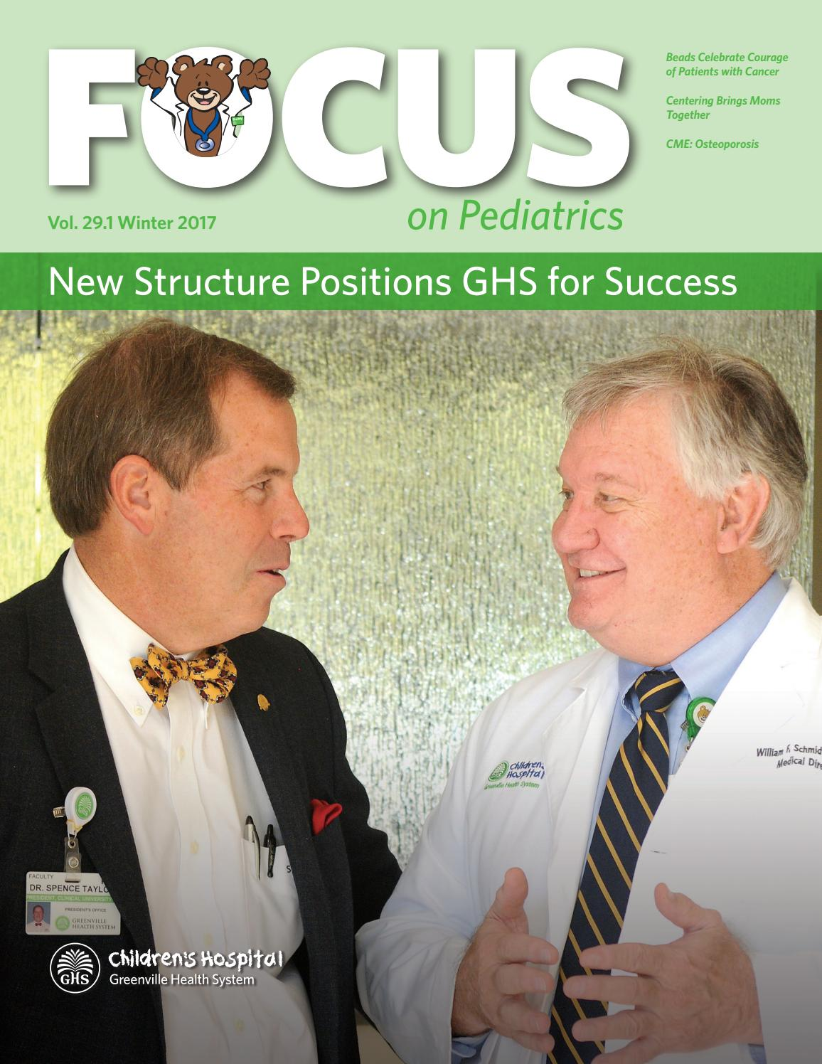 focus on pediatrics summer 2016 by greenville health system issuu