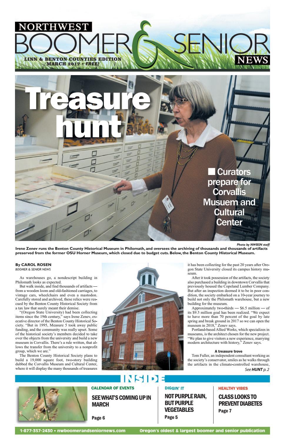 Northwest Boomer and Senior News Linn Benton Edition March 2017 by ...