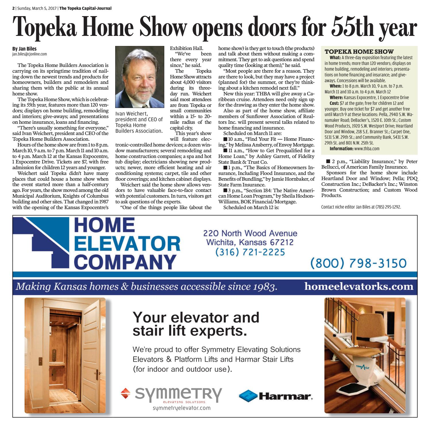 Topeka 2017 Home Show By Cj Media Page 2 Issuu