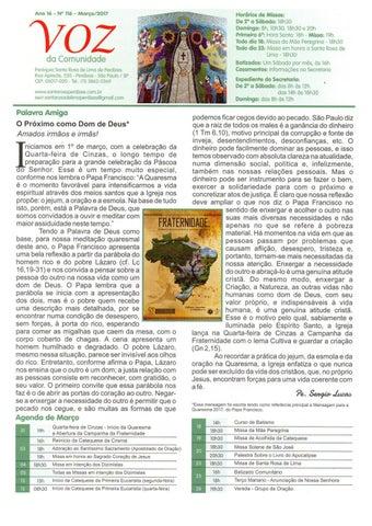 [Jornal Santa Rosa de Lima – Março 2017]