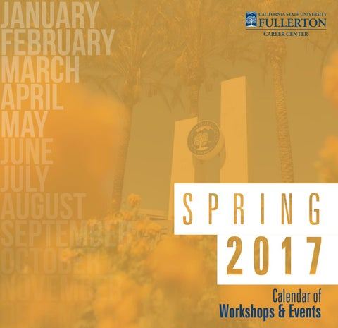 Spring 2017 Digital Workshops & Events Calendar