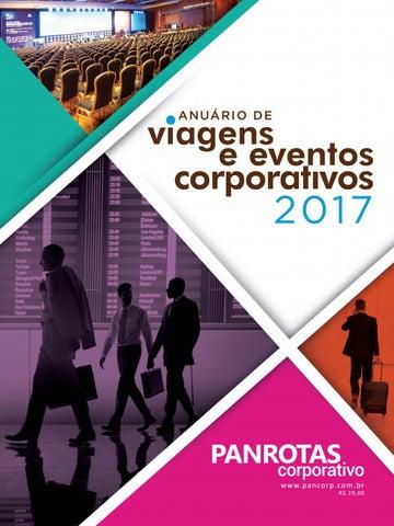 Anuário de Viagens e Eventos Corporativos 2017