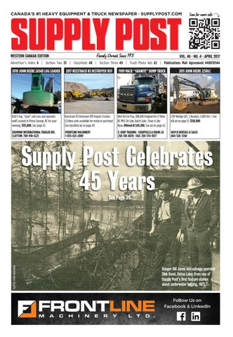 Supply Post Western Cover - March 2017