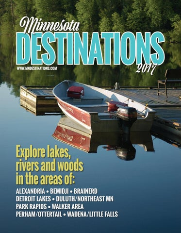 Minnesota Destinations - Adventures in Travel 2017 - Travel Guide Cover