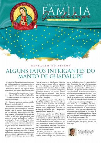 [Informativo Família Guadalupe – 15ª Edição]