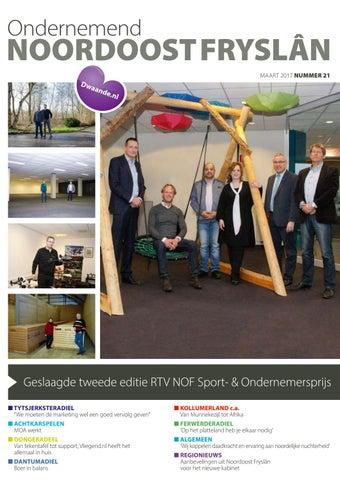 Ondernemend Noordoost Fryslân maart 2017