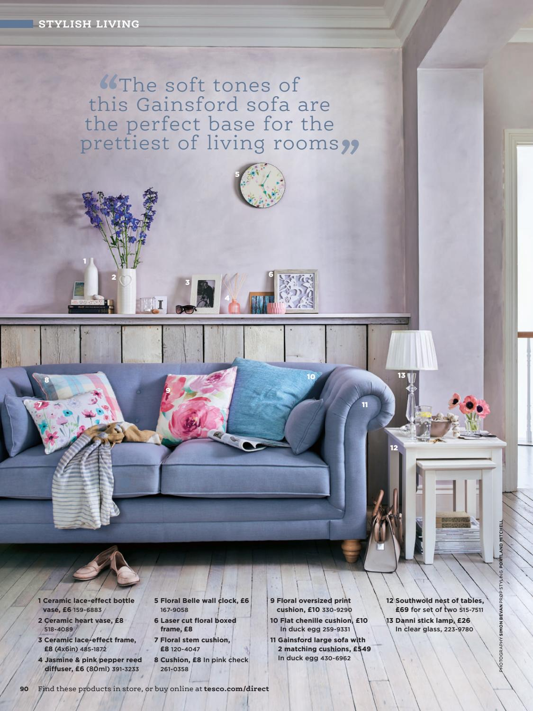 Tesco Living Room Furniture Tesco Magazine April 2017 By Tesco Magazine Page 90 Issuu