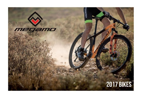 Megamo Bikes 2017