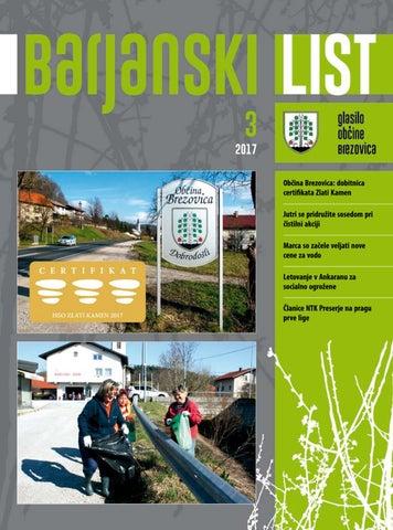 Barjanski list marec 2017