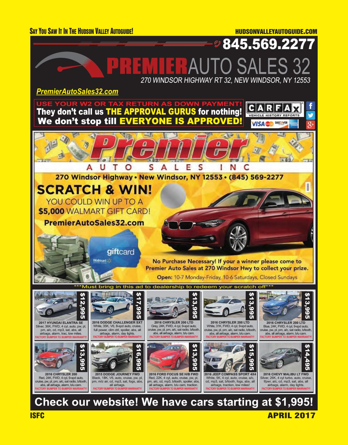 Hudson Valley Autoguide April 2017 By Hudson Valley