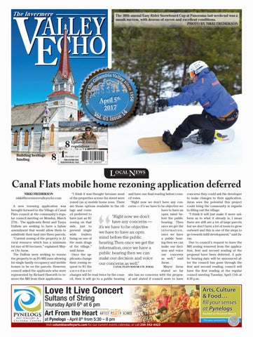 Invermere Valley Echo, April 5, 2017