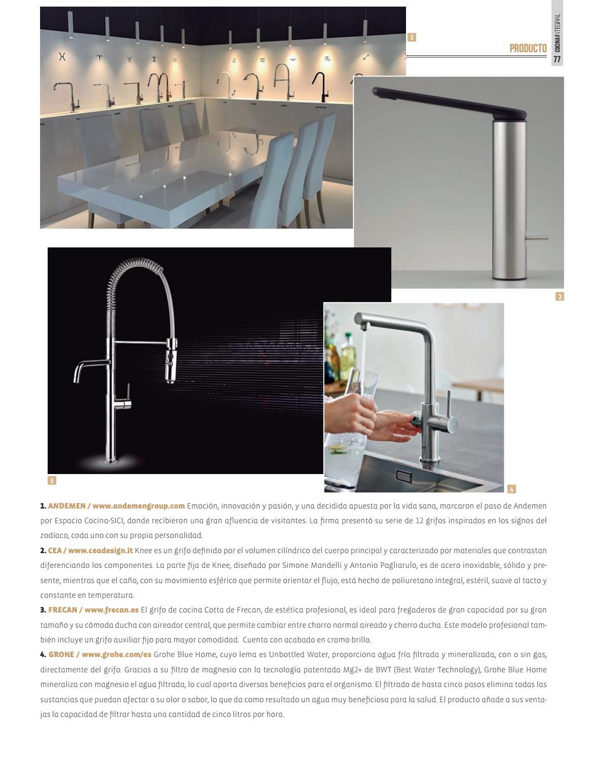 Cocina integral 110 by cocinaintegral page 77 issuu for Componentes de una cocina integral