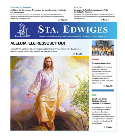 [Jornal Sta. Edwiges (Abril/2017)]