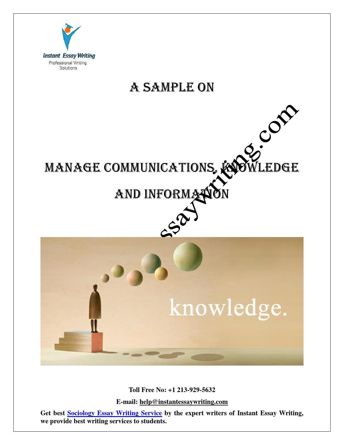 clc l6010950 managing communication knowledge and