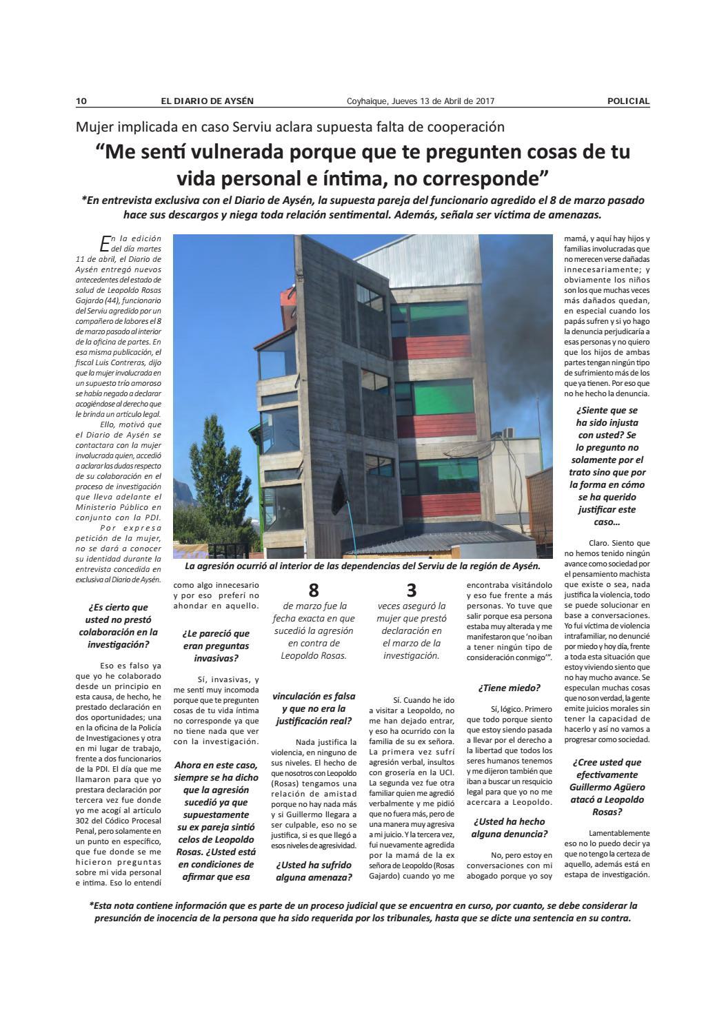 13042017 by diario ays n page 10 issuu for Que oficina de inem me corresponde