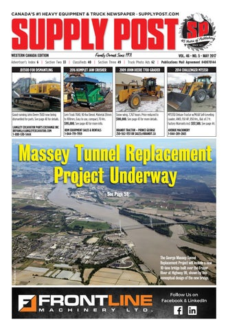 Supply Post Western Cover - April 2017