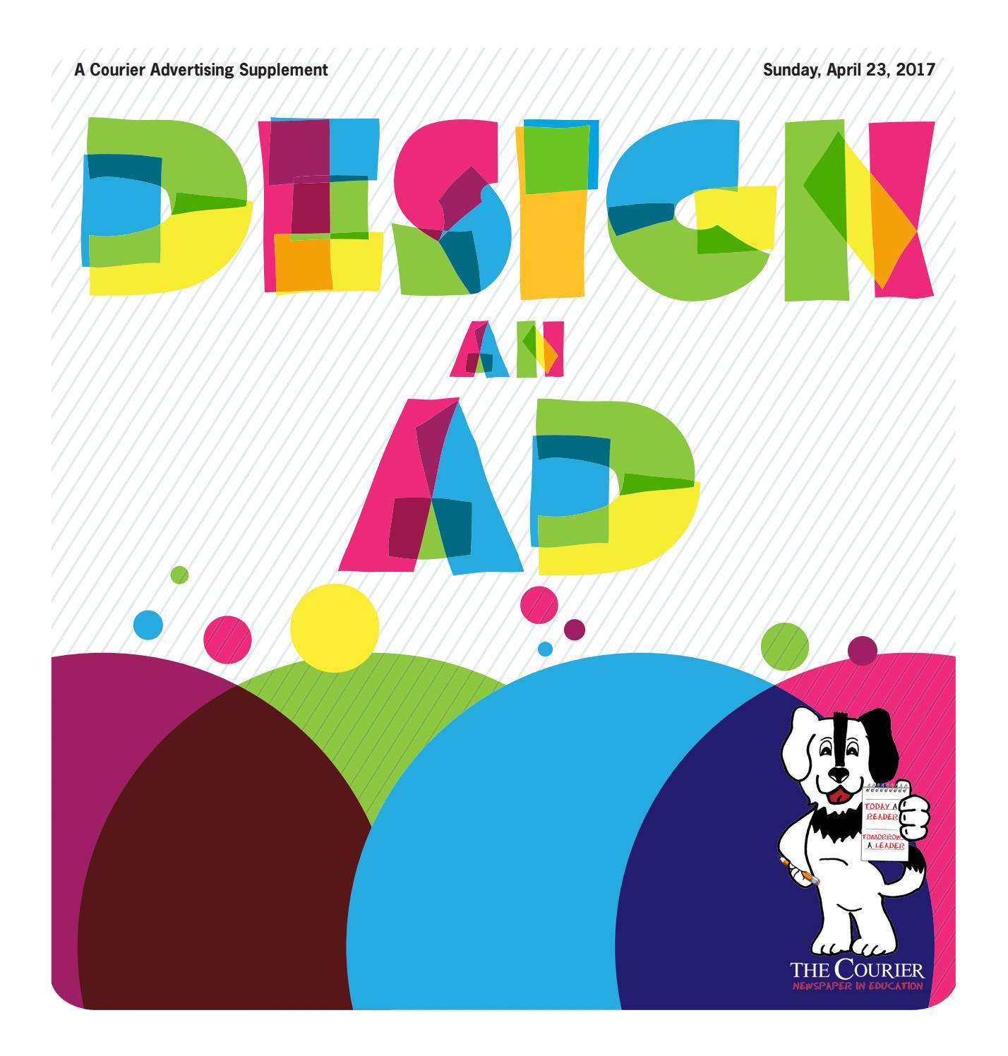 Design An Ad 2017 By Waterloo Cedar Falls Courier Issuu