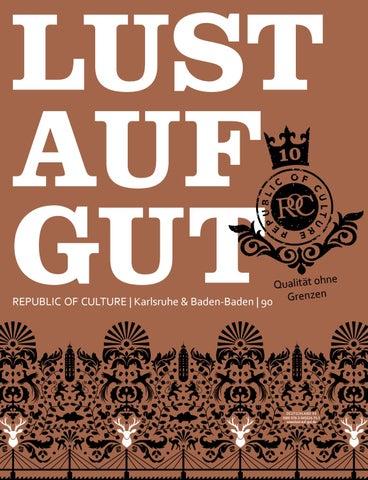 LUST AUF GUT Magazin | Karlsruhe & Baden-Baden Nr. 90