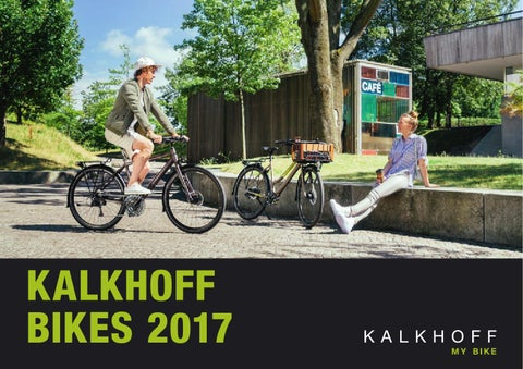 Kalkhoff bikes 2017