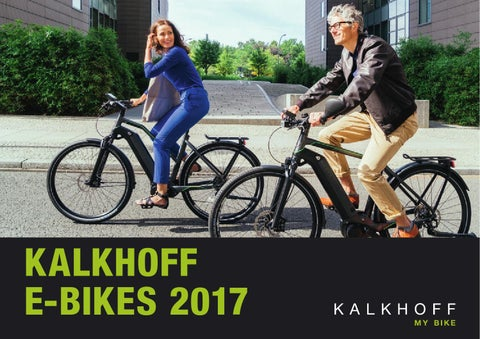 Kalkhoff E-Bikes 2017