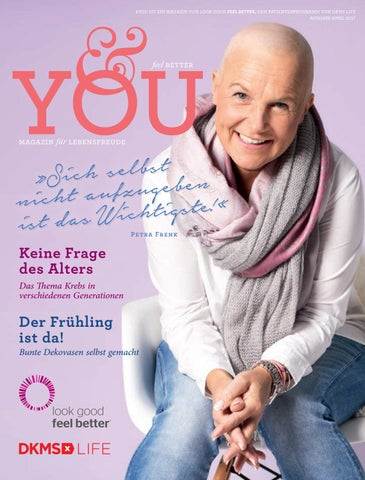 &you 1/17 – das DKMS LIFE Magazin