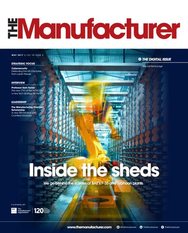 The Manufacturer May 2017