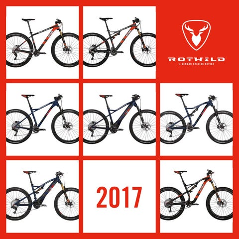Rotwild Bikes 2017