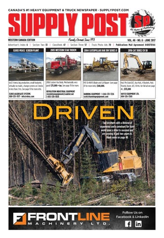 Supply Post Western Cover - May 2017