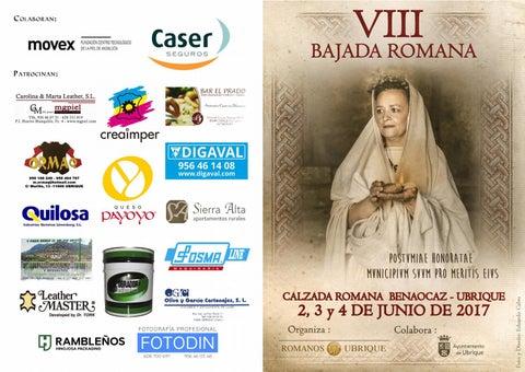 VIII Bajada Romana (Ubrique 2017)