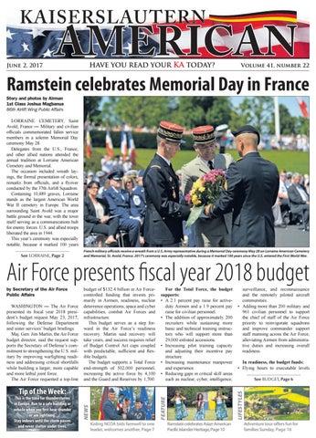 Kaiserslautern American, June 2, 2017