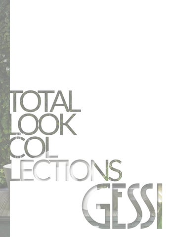 Gessi - Total Look Collections