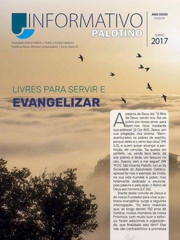 Publicação Mensal da Sociedade do Apostolado Católico - Província Nossa Senhora Conquistadora   Santa Maria, RS