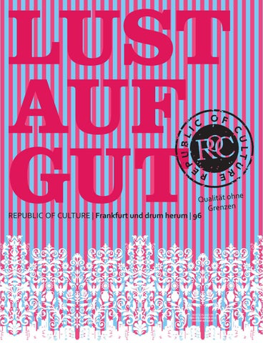 LUST AUF GUT Magazin | Frankfurt Nr. 96