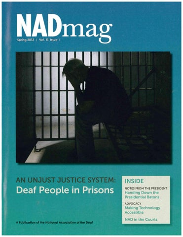 NADmag 2012 Vol. 11 Iss. 1