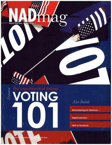 NADmag 2008 Vol. 8 No. 2