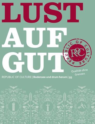 LUST AUF GUT Magazin | Bodensee Nr. 93