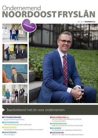 Ondernemend Noordoost Fryslân juni 2017