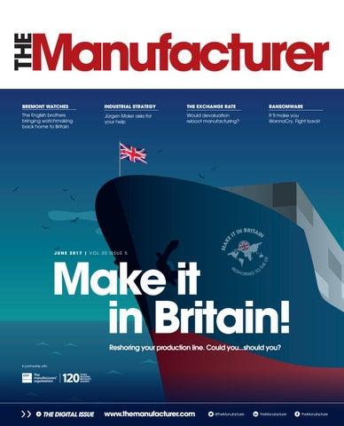 The Manufacturer June 2017
