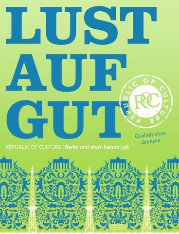 LUST AUF GUT Magazin | Berlin Nr. 98