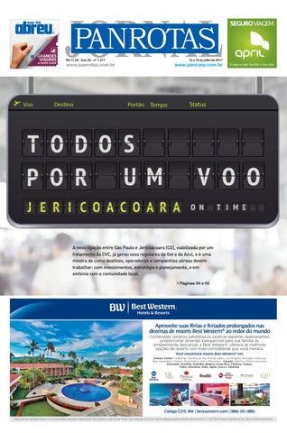 Quinta capa - Jornal PANROTAS 1277