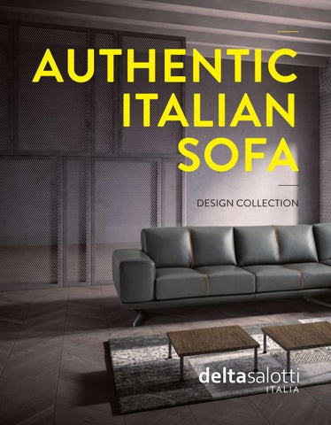 Delta Salotti - Catalogue 2015