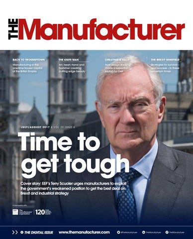 The Manufacturer July/August 2017