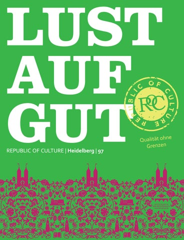 LUST AUF GUT Magazin | Heidelberg Nr. 97
