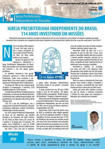 Boletim Informativo IPID 30 de Junho de 2017