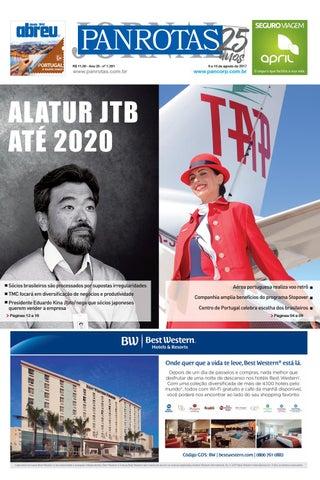 Terceira capa - Jornal PANROTAS 1.281